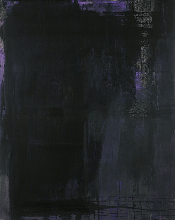 Reinhard Diezl // O.T. Acryl auf Leinwand 2013 // Untitled. Acrylic on canvas 250 x 200 cm